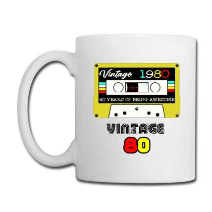 Birthday 1980 Born In Coffee Mug