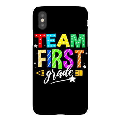 Team First Grade For Elementary Teacher Iphonex Case Designed By Ngiart