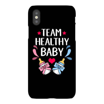 Team Baby Healthy For Gender Reveal Party Iphonex Case Designed By Ngiart