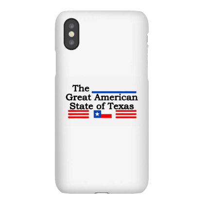 The Great American State Of Texas Iphonex Case Designed By Petruck Art