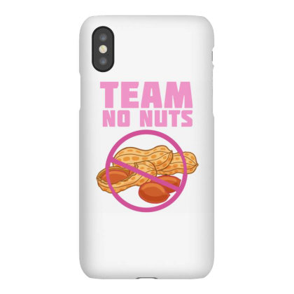 Team No Nuts For Gender Reveal Iphonex Case Designed By Ngiart
