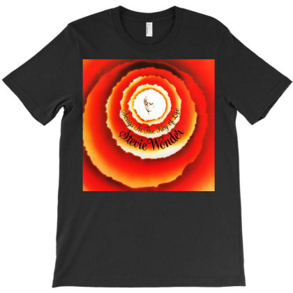 Wonder Songs In The Key Of Life T-shirt Designed By Princeone