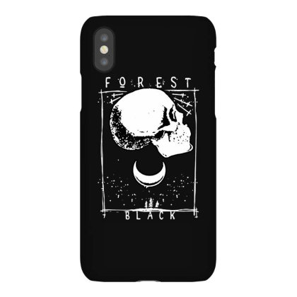 Black Forest Iphonex Case Designed By Leona Art