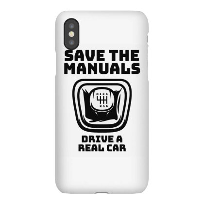 Save The Manuals Car Iphonex Case Designed By Zig Street