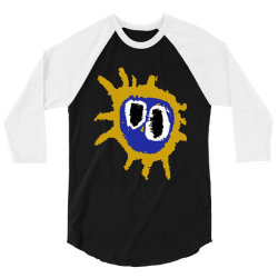 screamadelica primal scream rock 3/4 Sleeve Shirt | Artistshot