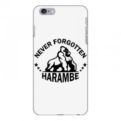 Never Forgotten Harambe iPhone 6 Plus/6s Plus Case | Artistshot