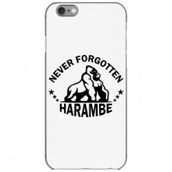 Never Forgotten Harambe iPhone 6/6s Case | Artistshot
