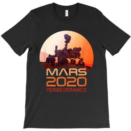 Mars 2020 Perseverance Rover Mission Patch Logo Jpl Insignia T-shirt Designed By Jonathon