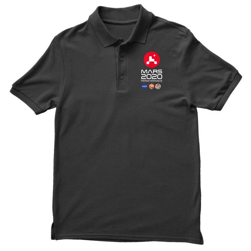 Nasa Perseverance Rover Mars 2020 Men's Polo Shirt | Artistshot