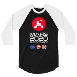 nasa perseverance rover mars 2020 3/4 Sleeve Shirt | Artistshot