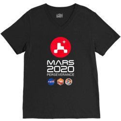 nasa perseverance rover mars 2020 V-Neck Tee | Artistshot