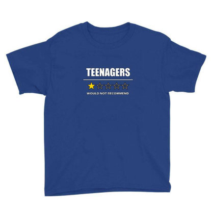 Teenagers  1 Star Would Not Recommend Youth Tee Designed By Asatya