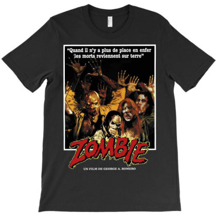 Zombie. Dawn Of The Dead 1978 T-shirt Designed By Activoskishop