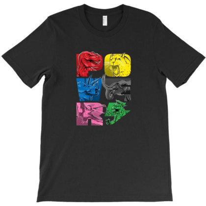 Power T-shirt Designed By Frebsrs
