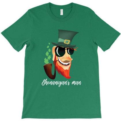 Shenanigans T-shirt Designed By Arteriamix