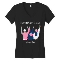 International Women's Day Women's V-Neck T-Shirt   Artistshot