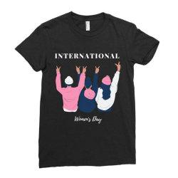 International Women's Day Ladies Fitted T-Shirt   Artistshot