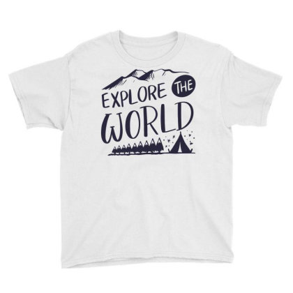 Explore The World Youth Tee Designed By Estore