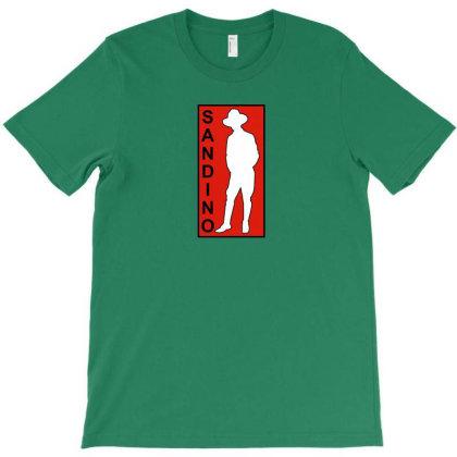 Sandino Red Silhouette T-shirt Designed By Artbypedro