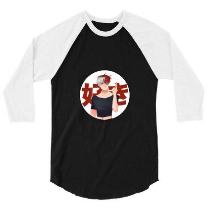 Academy 3/4 Sleeve Shirt Designed By Herlina Citrakusuma