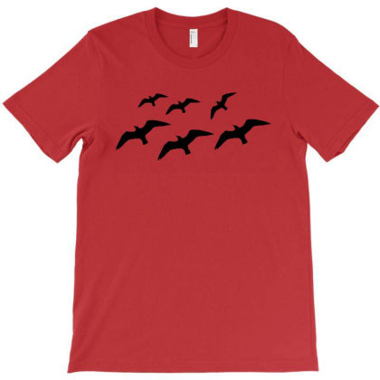 Simple Birds Silhouette T-shirt Designed By Artbypedro