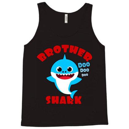 Brother Shark Gift   Cute Baby Shark Tank Top Designed By Syakirra