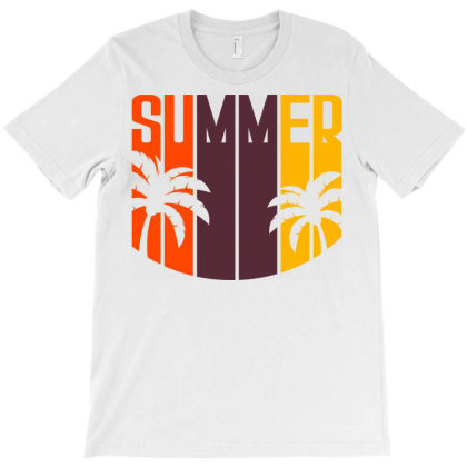Summer Sunset T-shirt Designed By Ombredreams