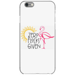 Zero Flocks Given iPhone 6/6s Case | Artistshot