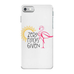 Zero Flocks Given iPhone 7 Case | Artistshot