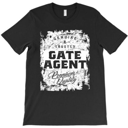 Gate Agent Gift Funny Job Title Profession Birthday Idea T-shirt Designed By Cidolopez