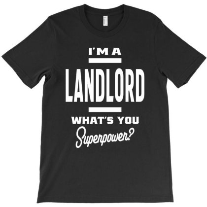 Landlord Gift Funny Job Title Profession Birthday Idea T-shirt Designed By Cidolopez