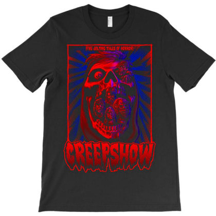 Creep Show. Classic Terror T-shirt Designed By Activoskishop