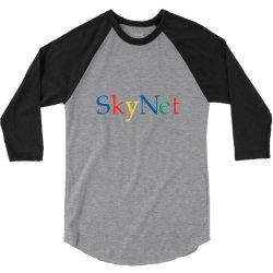 skynet 3/4 Sleeve Shirt | Artistshot