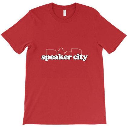 Speaker City T-shirt Designed By Frenxy