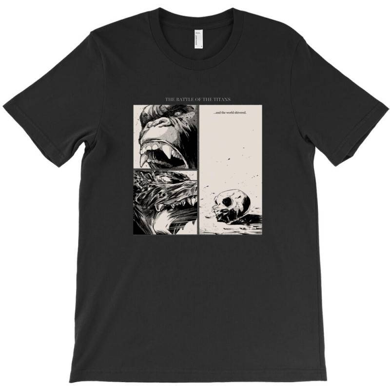 The Battle Of The Titans T-shirt | Artistshot