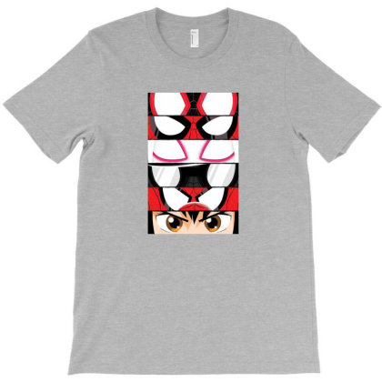 Spider Verse Eyes T-shirt Designed By Frendvg