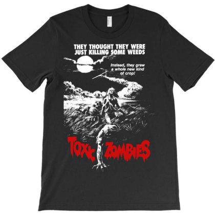 Toxic Zombies T-shirt Designed By Activoskishop
