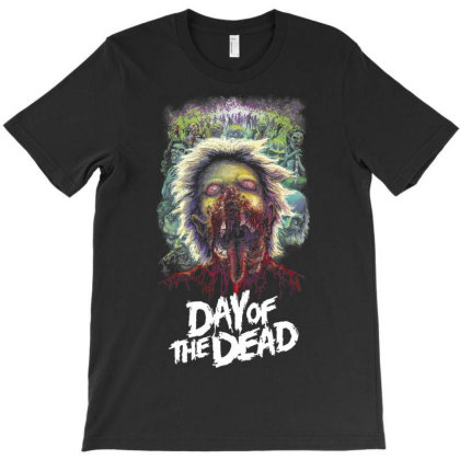 Day Of Dead. Romero's Zombies T-shirt Designed By Activoskishop