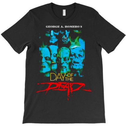 Day Of Dead. 1985 Romero T-shirt Designed By Activoskishop