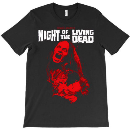 Night Of The Living. Dead T-shirt Designed By Activoskishop