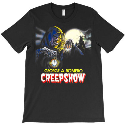 Creep Show. Terror Tales T-shirt Designed By Activoskishop