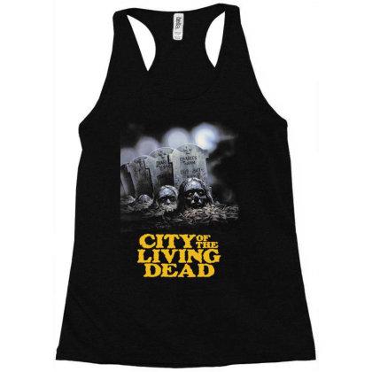 City Of The Living Dead. Lucio Fulci Racerback Tank Designed By Activoskishop