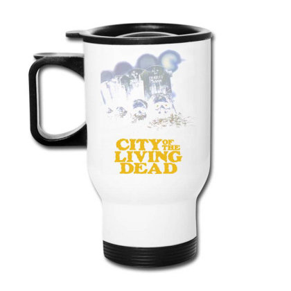 City Of The Living Dead. Lucio Fulci Travel Mug Designed By Activoskishop