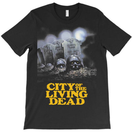 City Of The Living Dead. Lucio Fulci T-shirt Designed By Activoskishop