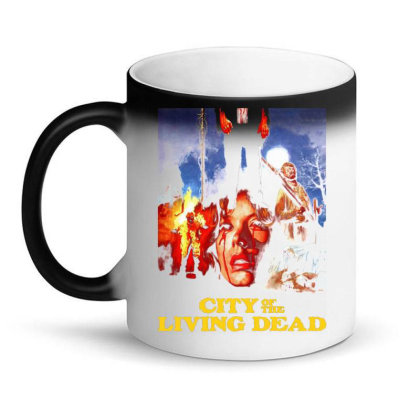 City Of The Living Dead. Hell Gate Magic Mug Designed By Activoskishop
