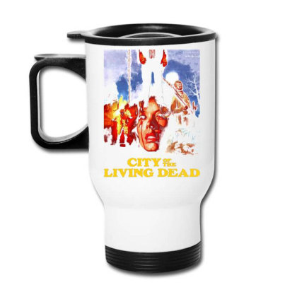 City Of The Living Dead. Hell Gate Travel Mug Designed By Activoskishop
