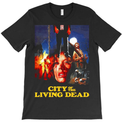 City Of The Living Dead. Hell Gate T-shirt Designed By Activoskishop