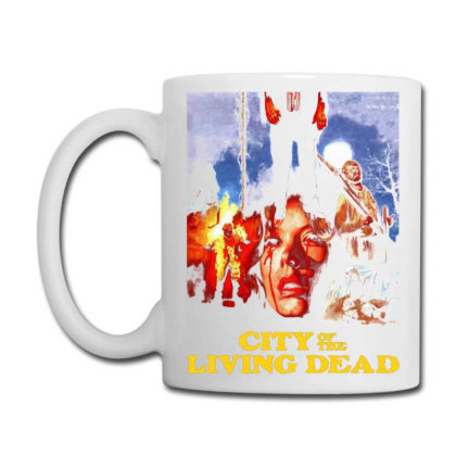 City Of The Living Dead. Hell Gate Coffee Mug Designed By Activoskishop