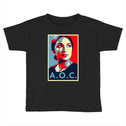 Alexandria Ocasio Cortez Aoc New Party Who Dis Hope Toddler T-shirt Designed By Omg Shirt