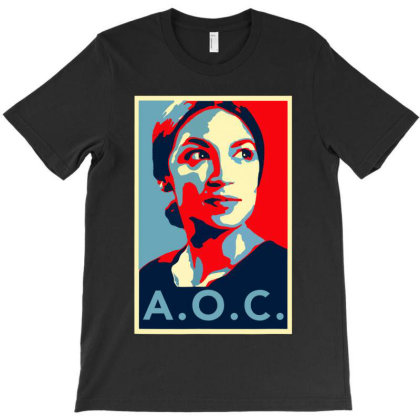 Alexandria Ocasio Cortez Aoc New Party Who Dis Hope T-shirt Designed By Omg Shirt